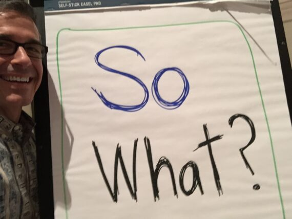 Disney Institute Keynote Speaker and his trademark question