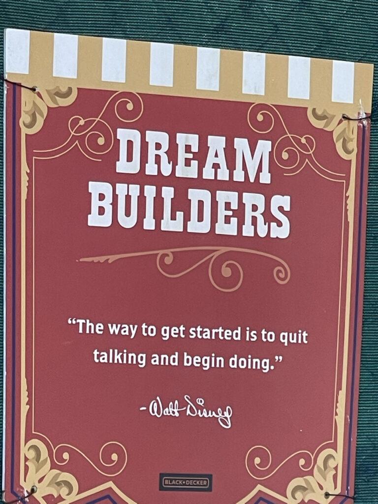 disney quote sign