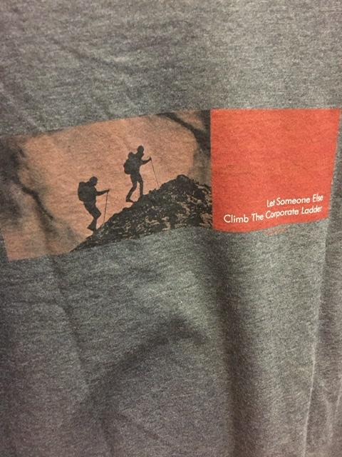 hiking tee-shirt