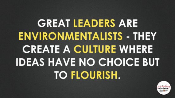 Jeff Noel quote about culture and leadership