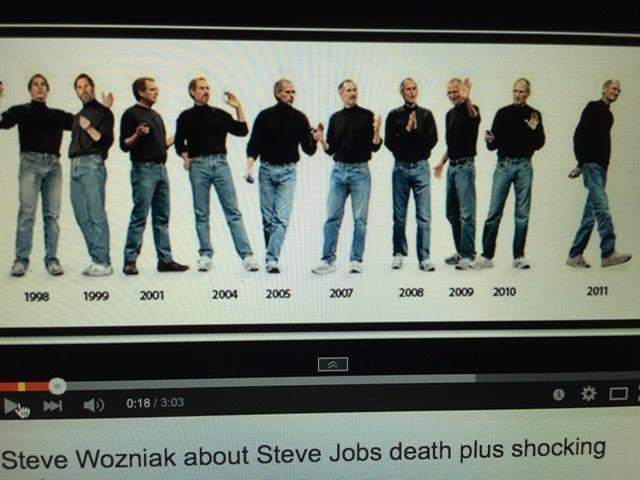 Steve Jobs speech attire timeline