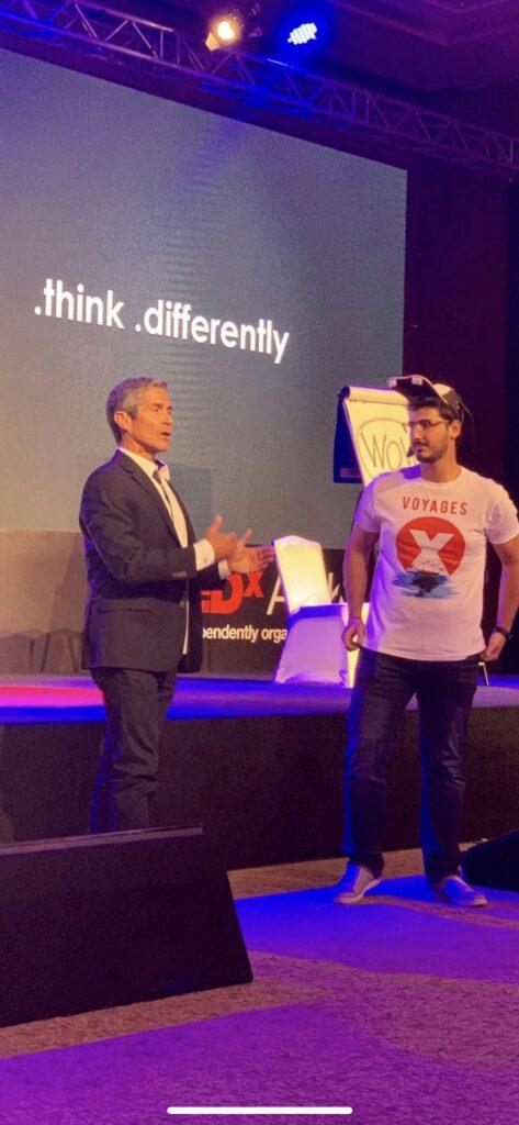 Disney Keynote Speaker Jeff Noel speaking at TEDx