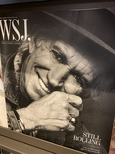 Rock Star on cover of Rolling Stone magazine
