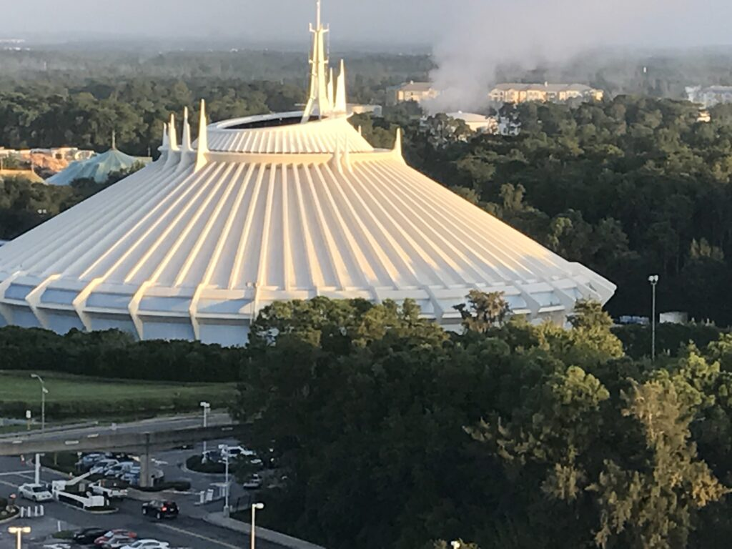 Space Mountain at Walt Disney World